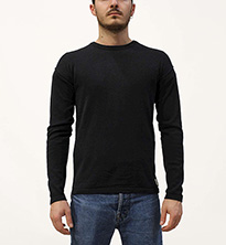 SCOTCH&SODA DROPPED-SHOULDER PULL IN LIGHTWEIGHT