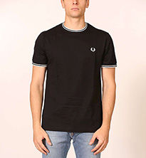 T-SHIRT FREDPERRY FP TWIN TIP
