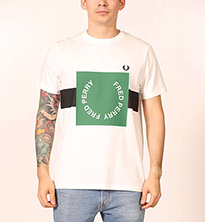 T-SHIRT FREDPERRY FP BOLD | chckpoint.