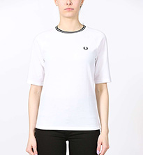 T-SHIRT FREDPERRY TWIN TIPPED