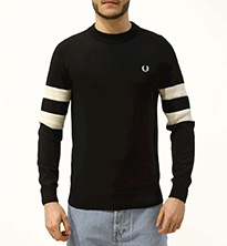 MAGLIONE FRED PERRY TIPPED SLEEVE