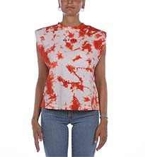 T-SHIRT REPLAY ROSSO