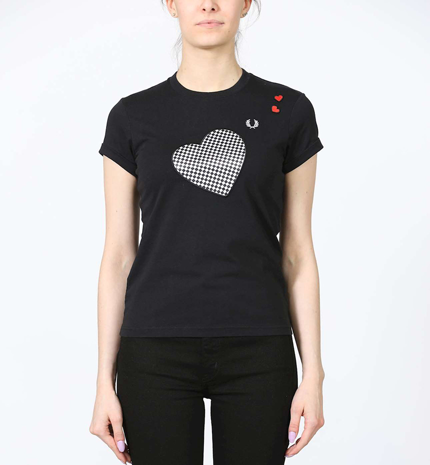 T-SHIRT FREDPERRY AMY PRINTED