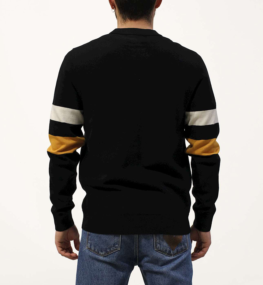 CARDIGAN FREDPERRY TIPPED SLEEVE