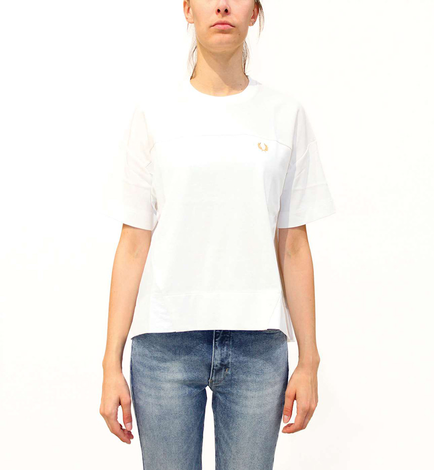 T-SHIRT FRED PERRY PANELLED