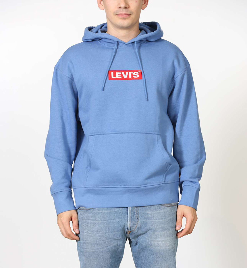 FELPA LEVIS RELAXED GRAPHIC HOODIE