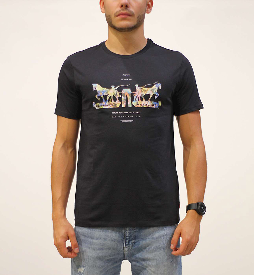 T-SHIRT LEVIS 2-HORSE GRAPHIC TEE