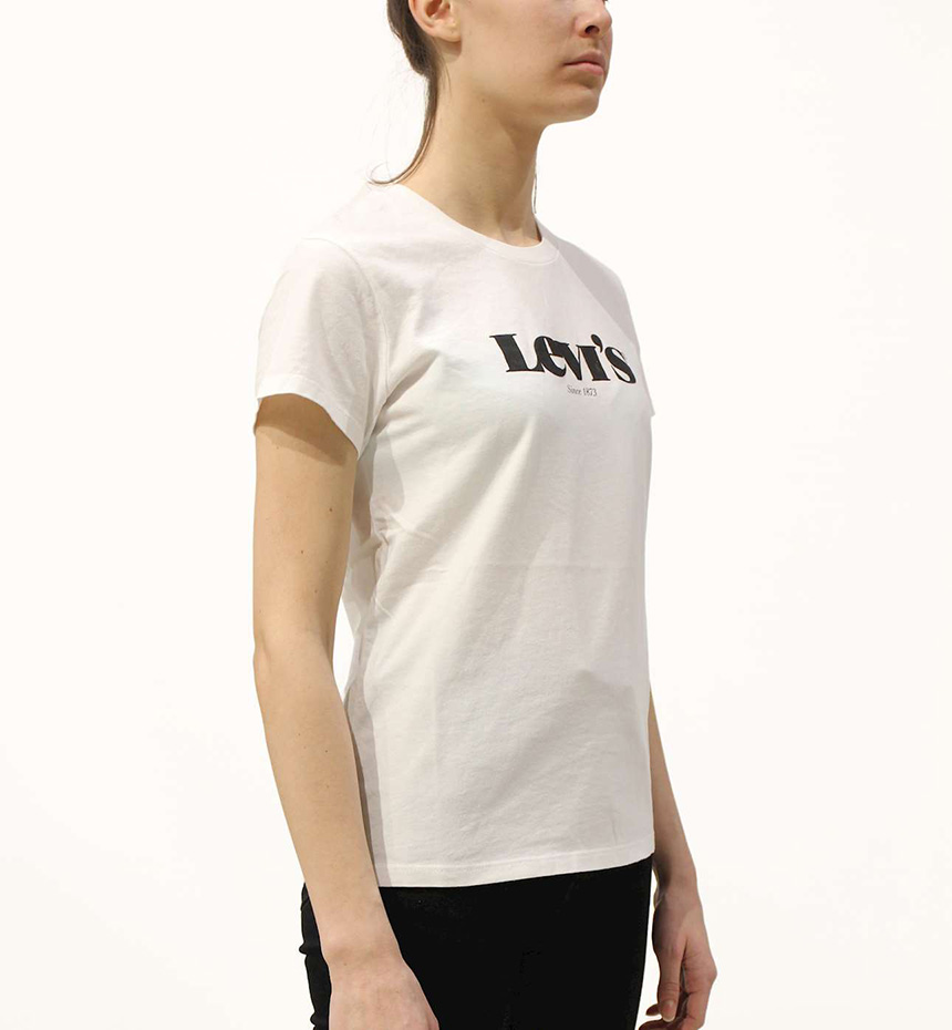 T-SHIRT LEVIS THE PERFECT TEE NEW LOGO II WH