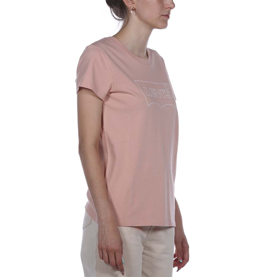 THE PERFECT TEE SEASONAL BW OUTLINE EVEN ROSA