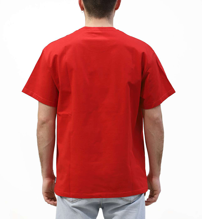 T-SHIRT IUTER SNITCH TEE ROSSO